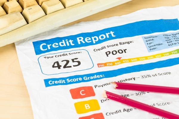 late payment bad credit report