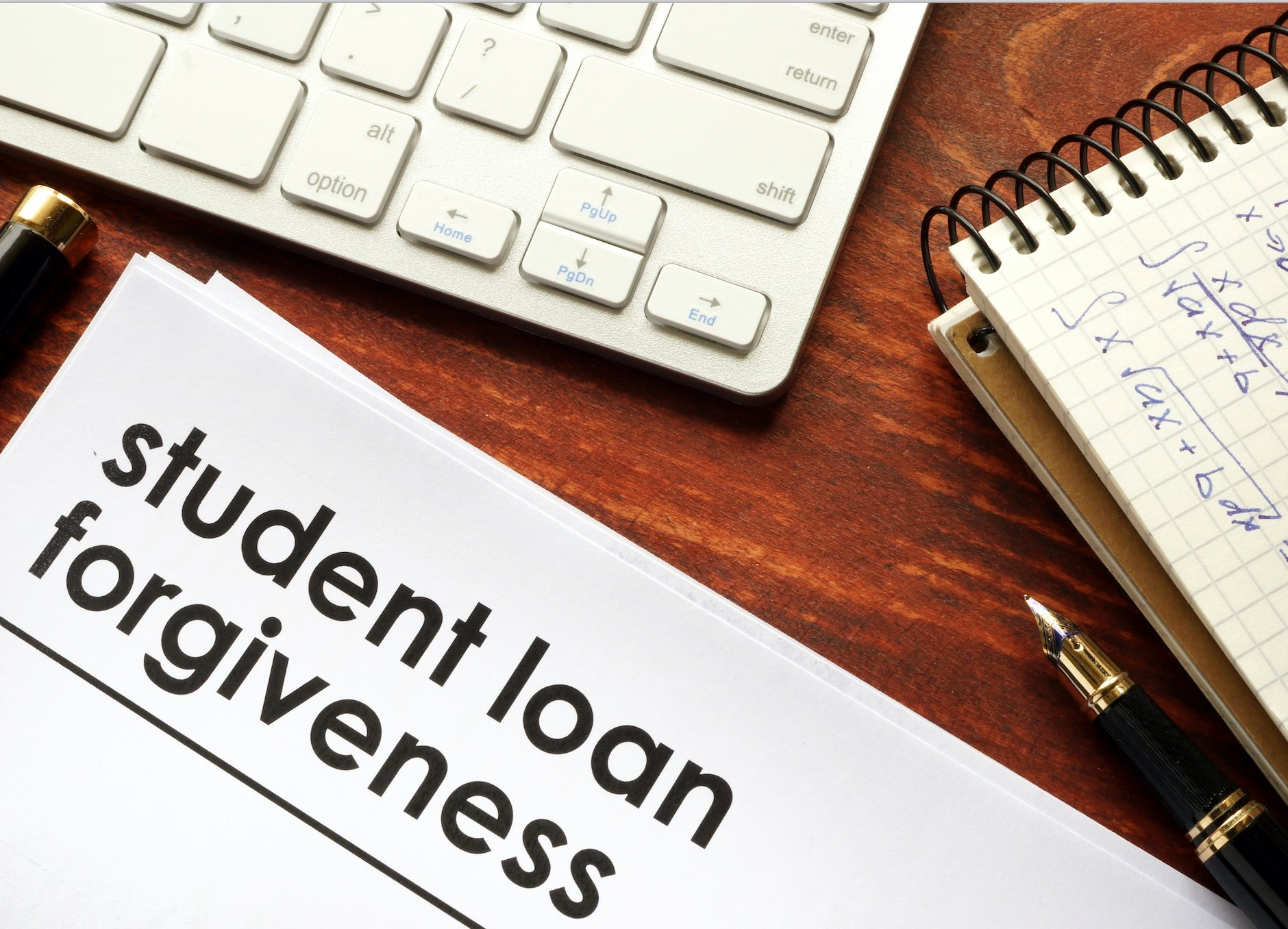 student loan debt should be forgiven essay Student debt is a form of debt that is owed by an attending, withdrawn, or graduated student to a lending institution the lending is often of a student loan, but debts may be owed to the school if the student has dropped classes and withdrawn from the school withdrawing from a school, especially if a low- or no-income student has withdrawn with a failing grade, could deprive the student of.