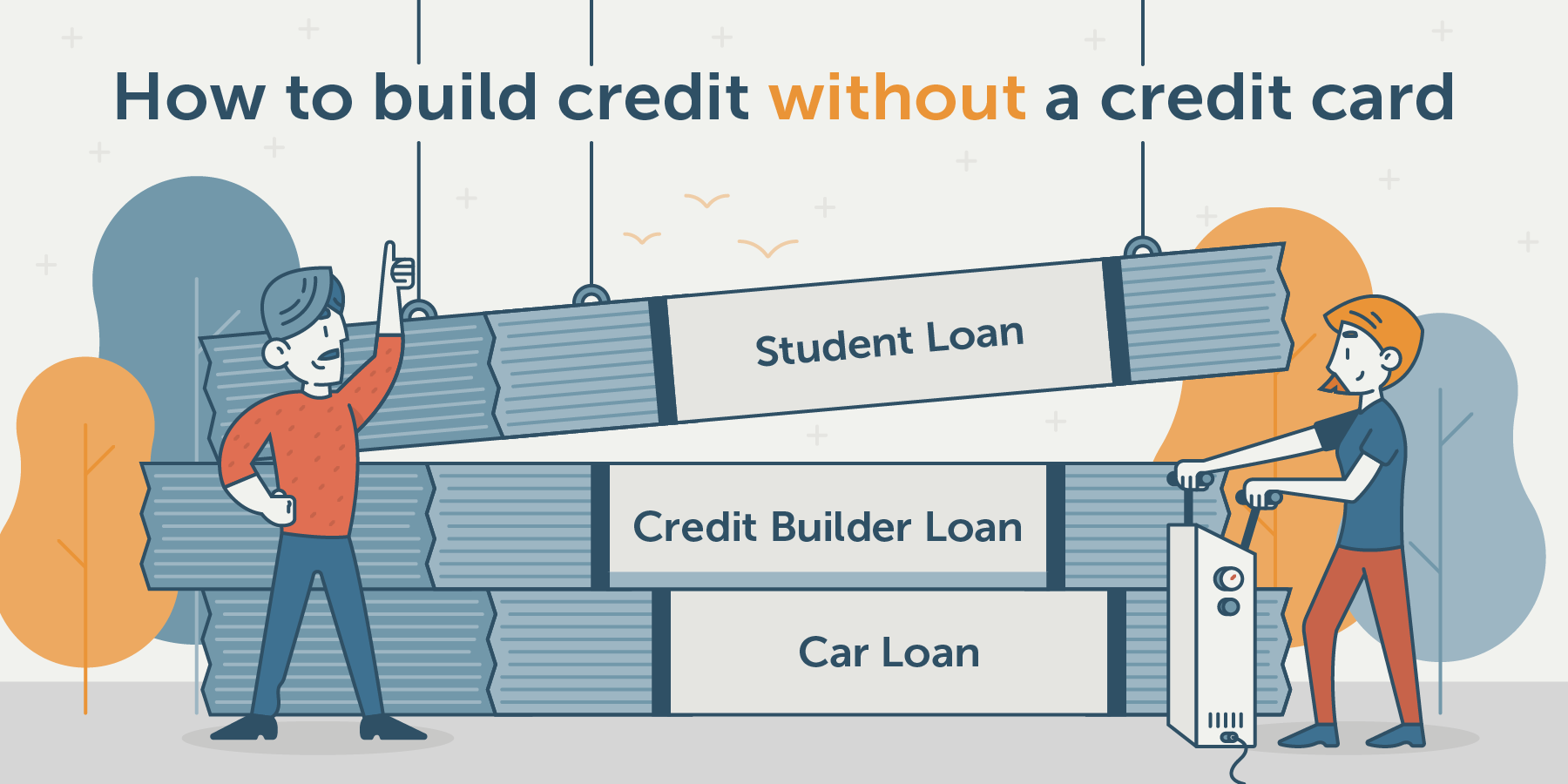 how to build credit without a credit card