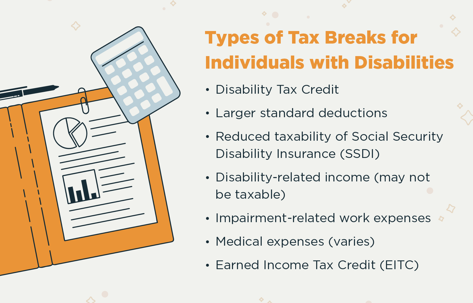 tax breaks for people with disabilities