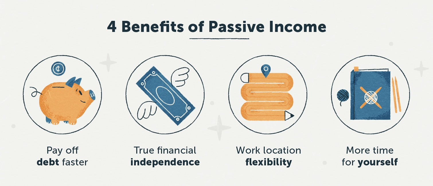 four benefits of passive income