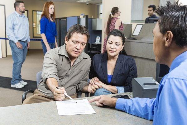 Bank lending to couple
