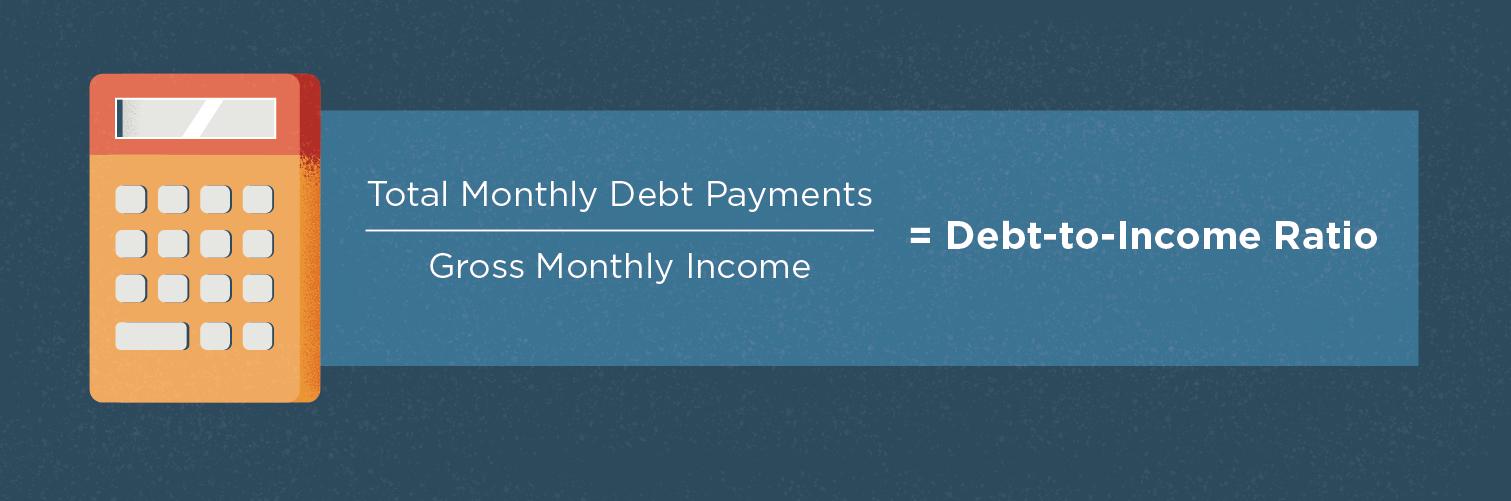 debt to income ratio formula
