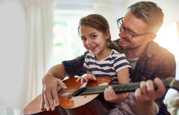 father and daughter - financial literacy