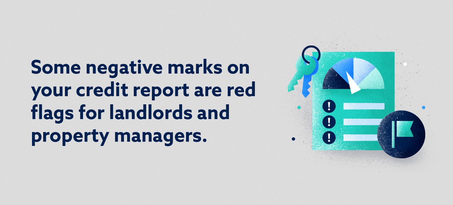 Negative Marks Are Red Flags for Landlords & Property Managers Image