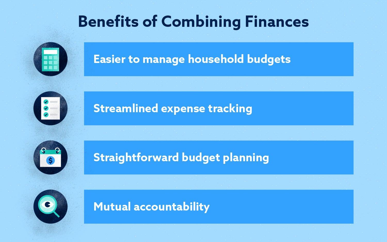Benefits of Combining Finances Image