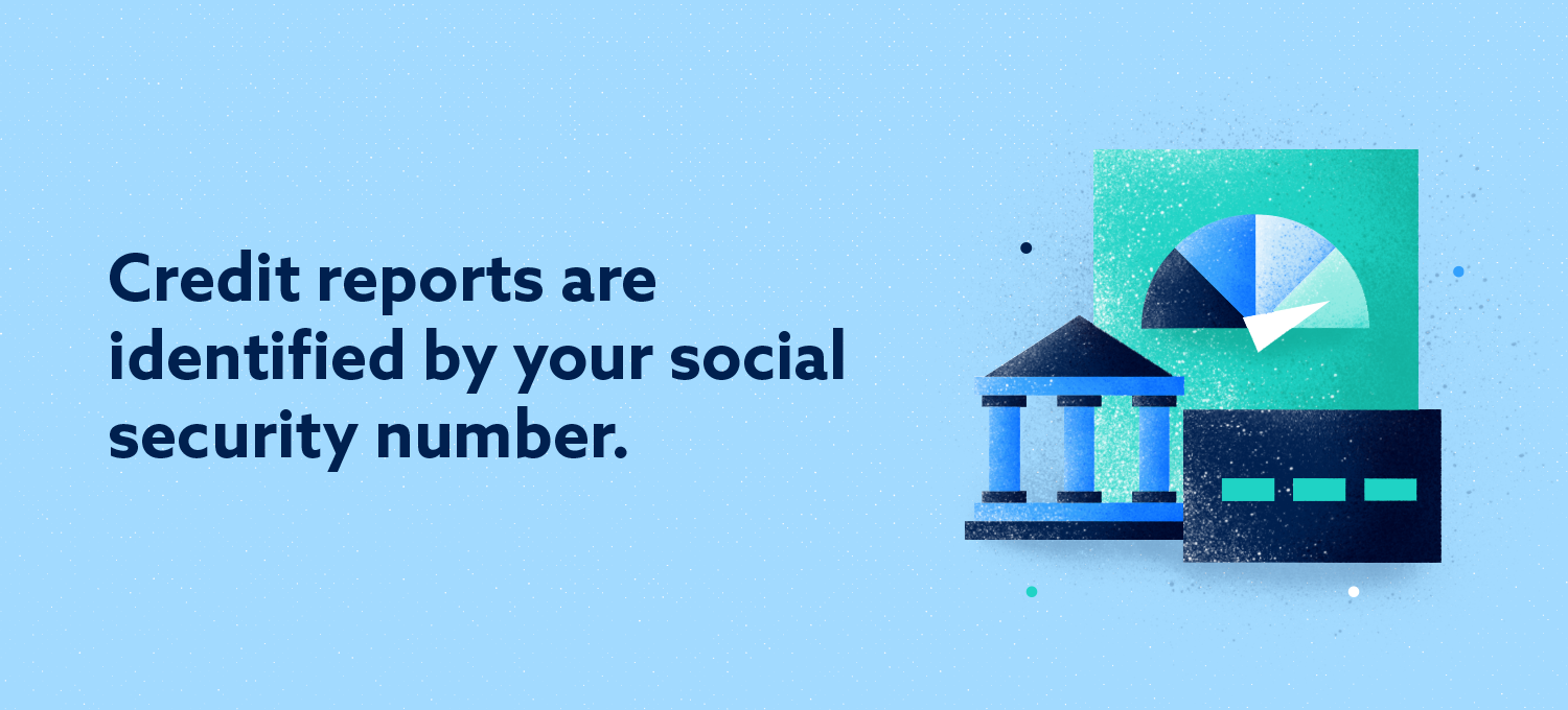 Credit Reports are Identified by Your Social Security Number Image