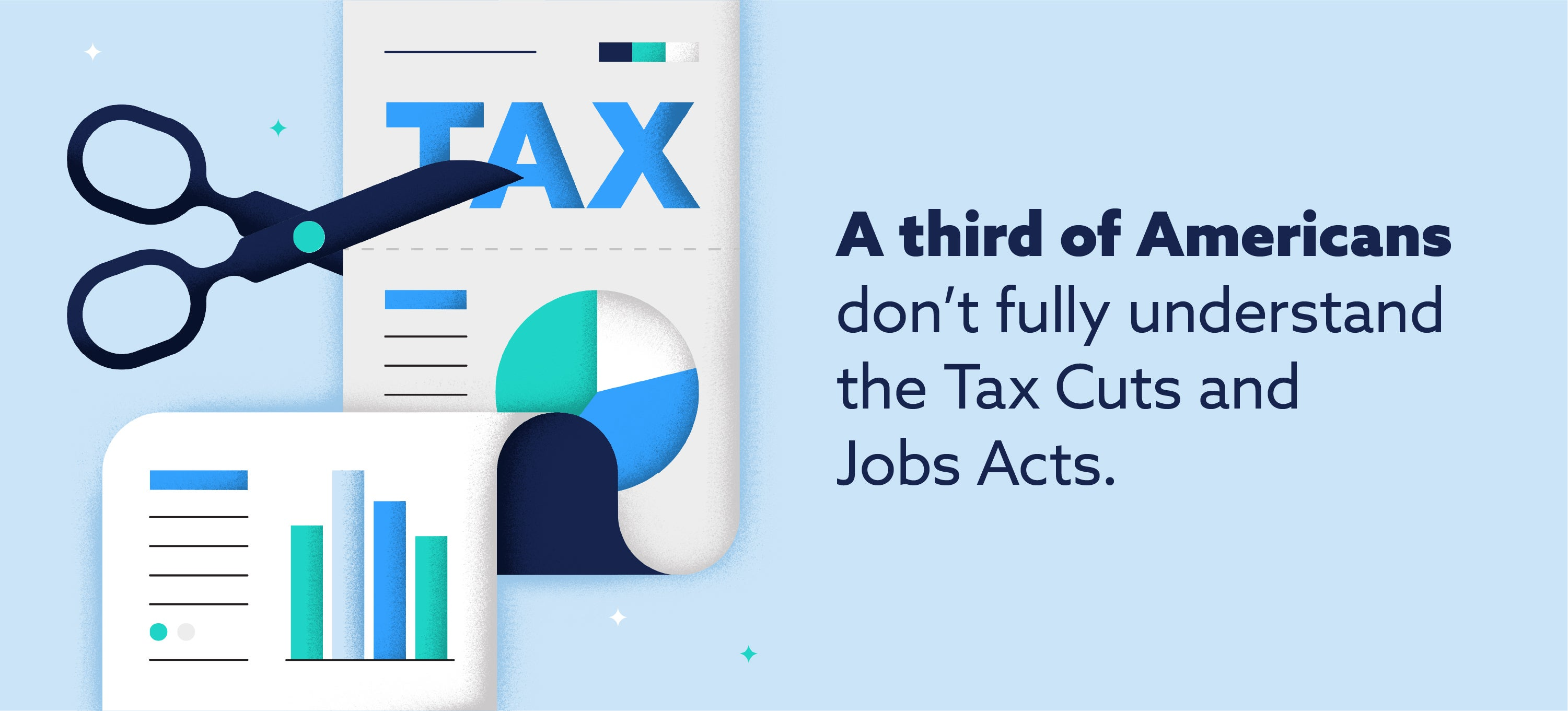 a third of americans don't fully understand the tax cuts and jobs acts