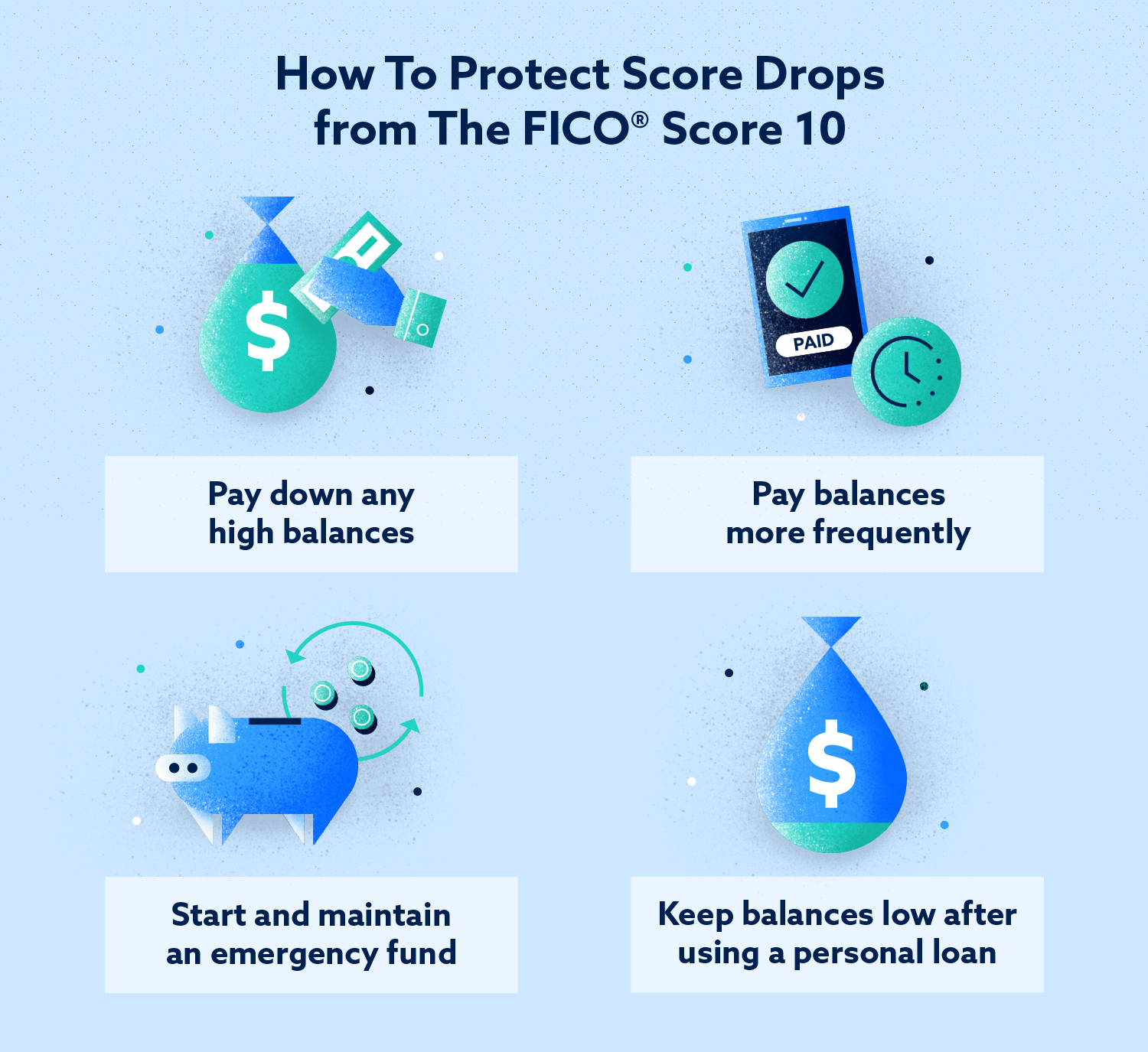 How to protect score drops from the graphic score 10