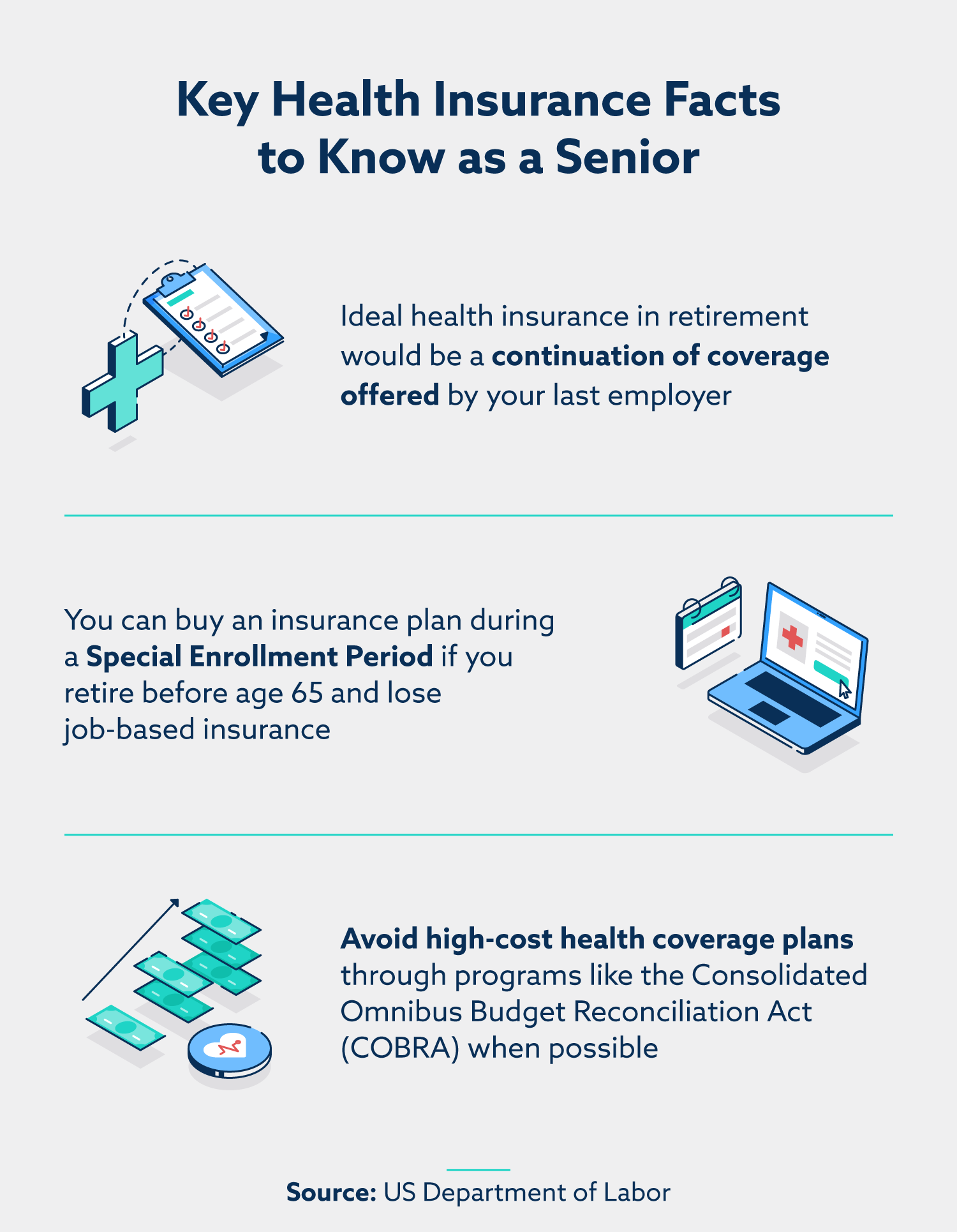 key health insurance facts to know as a senior