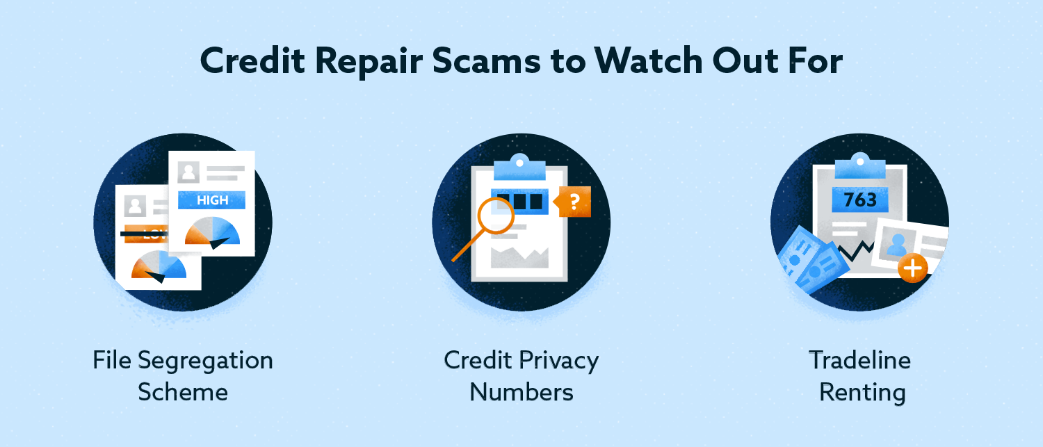 credit repair scams to watch out for