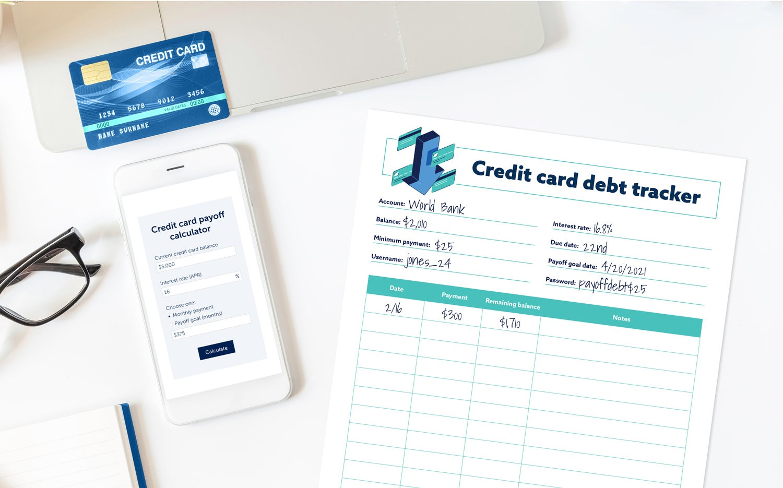 Credit debt tracker