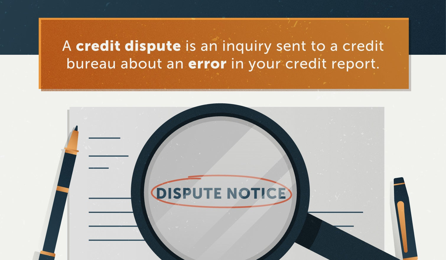 what is a credit dispute