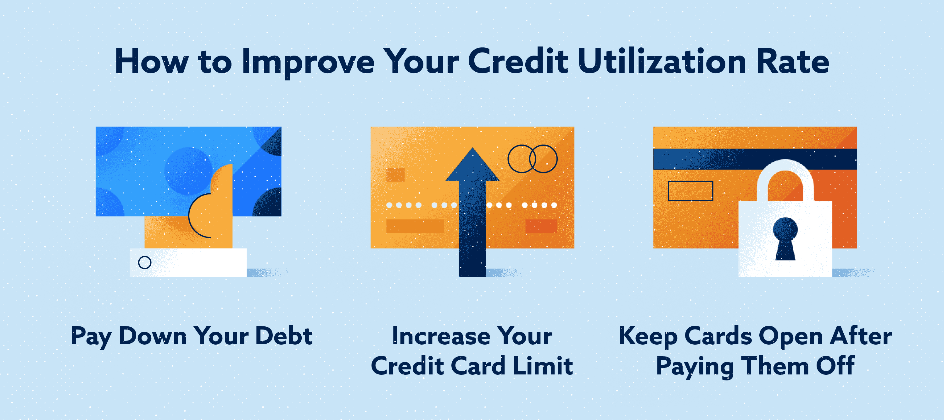 How to improve your credit utilization rate image