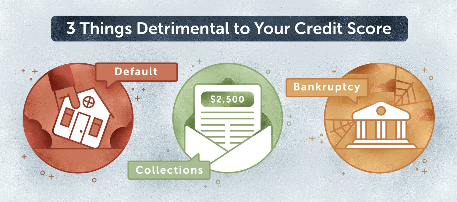 detrimental to your credit score