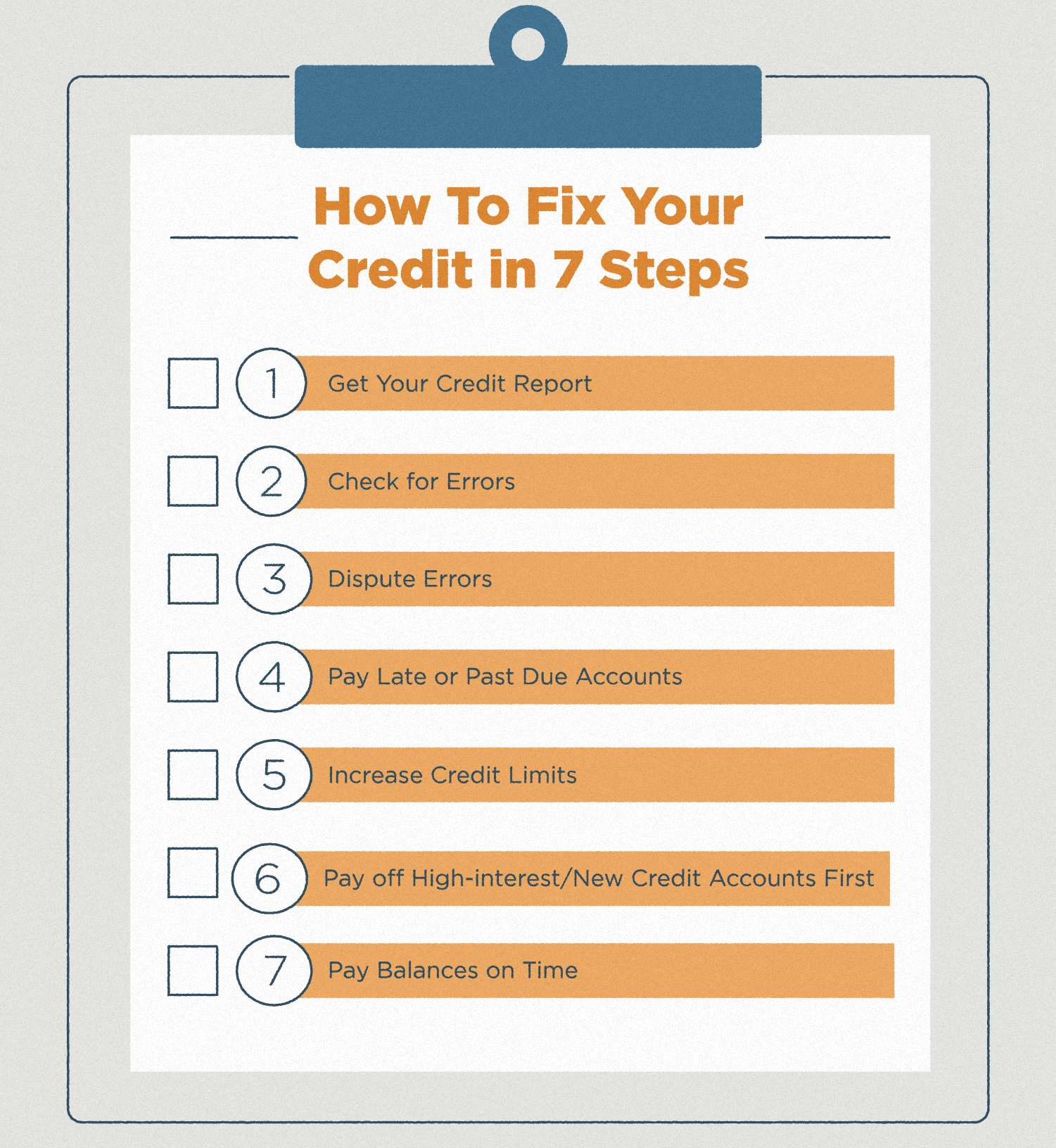 How to Fix Your Credit | Lexington Law
