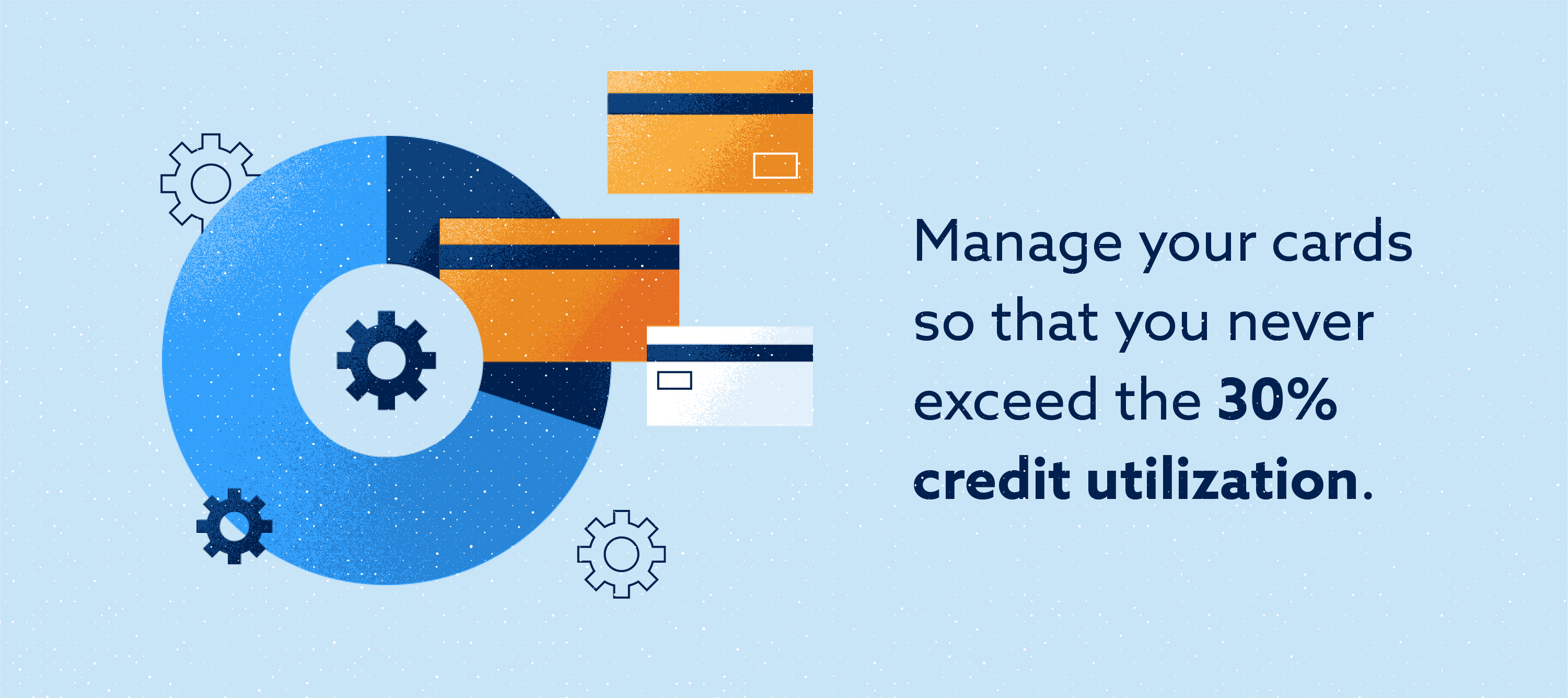 Credit utilization of 30% to help credit score Image