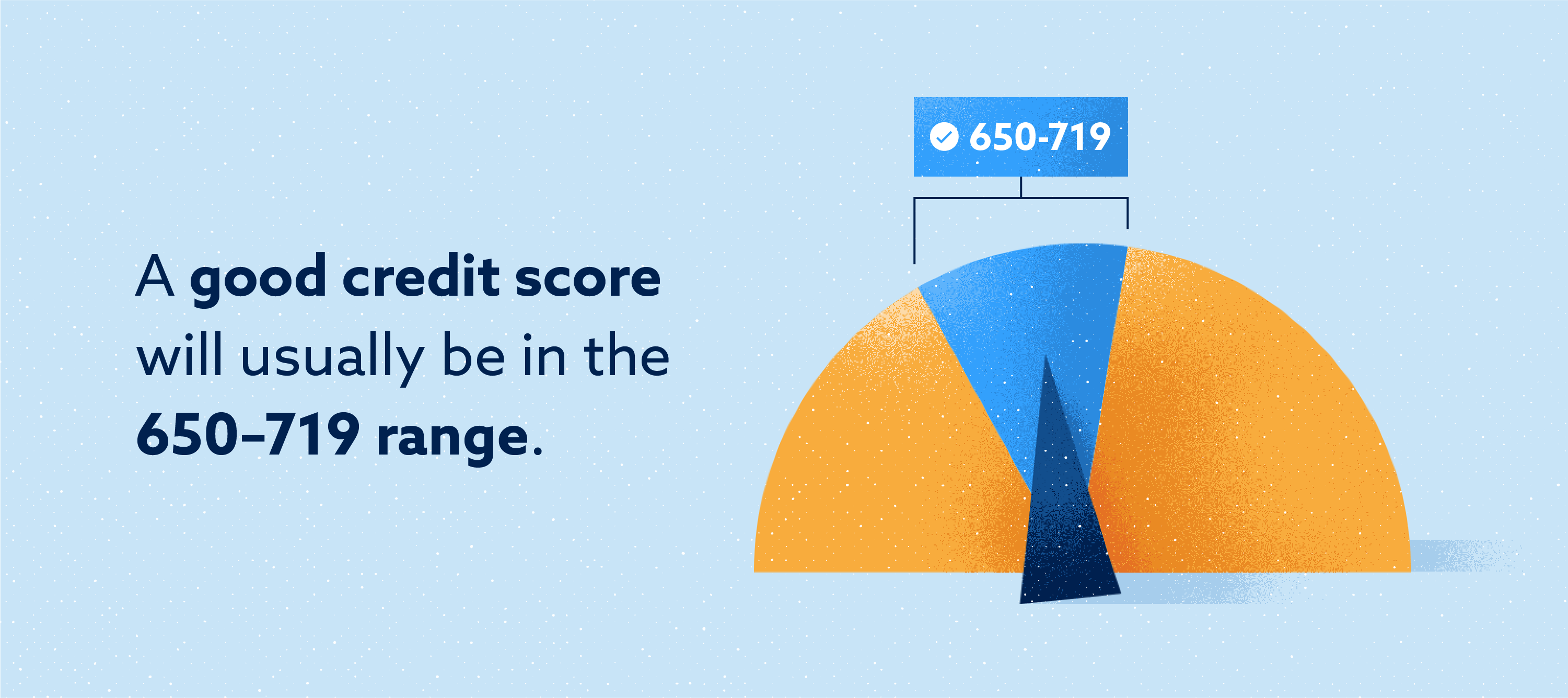 Good credit score Image