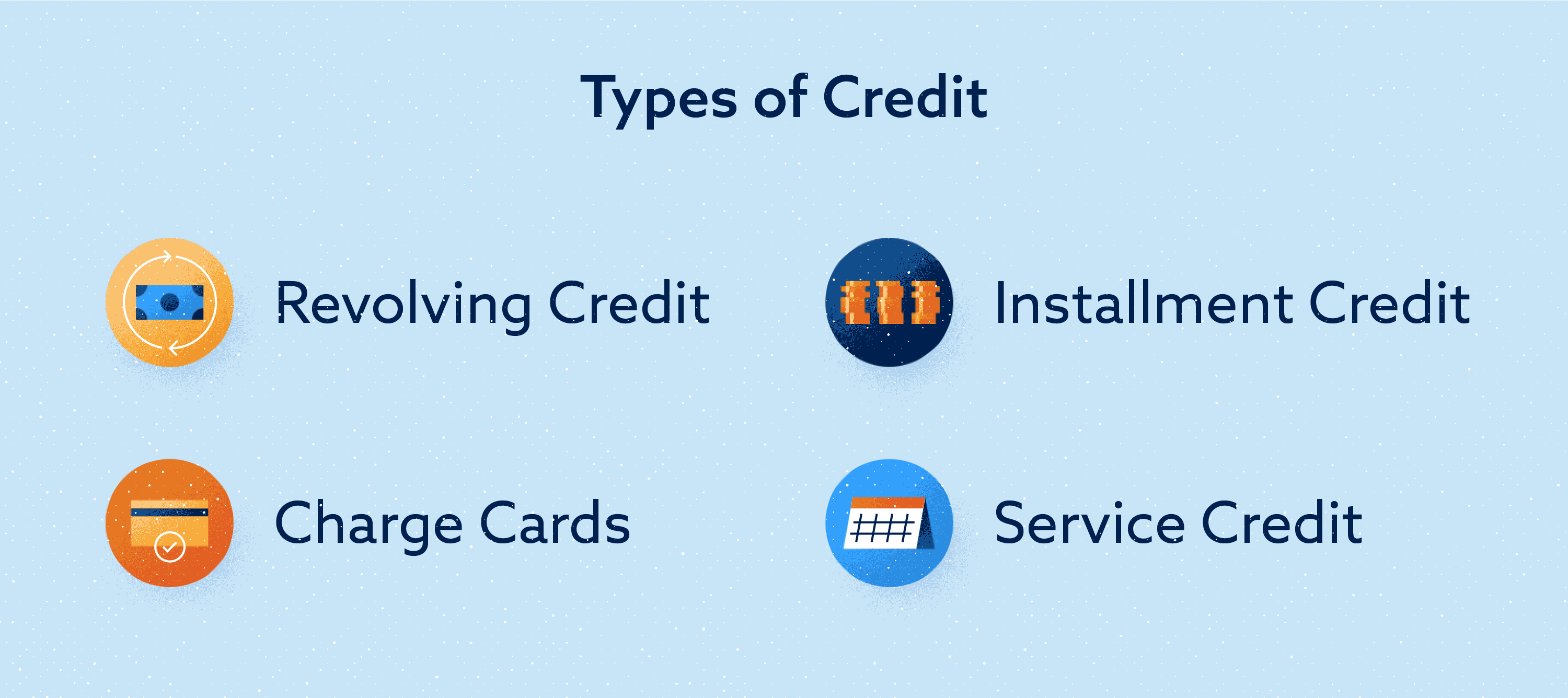 Types of Credit Image