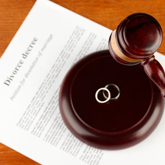 Divorce Hurts Credit