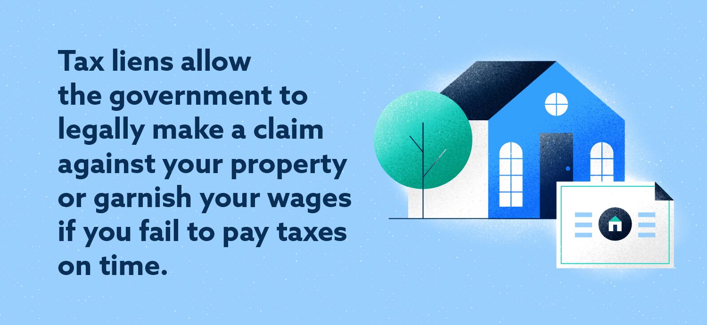 Tax Lien Definition Image