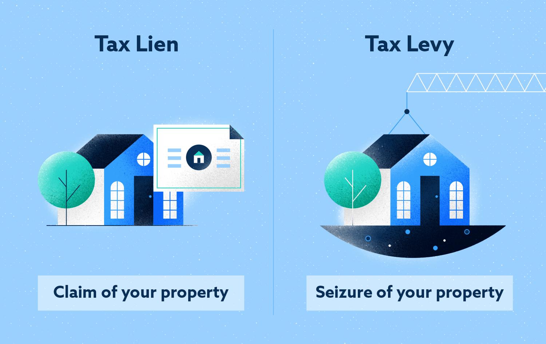 Tax Lien VS Tax Levy Image
